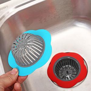 Silicone Kitchen Sink setaccio a forma di fiore filtro doccia Sink Drains copertura Scolapasta fogna Capelli cucina gadget