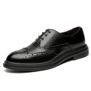 Männer Social Shoe Brogues Leder Social Formal Elegant Designer Formale Schuhe Männer # MSW8118161