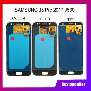 Luminosità per Samsung Galaxy J5 pro 2017 J530 SM-J530F SUPER AMOLED Display LCD Touch Screen Digitizer sostituzione sostituzione