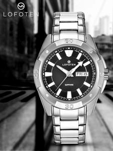 Di Lusso montre Oro Cronografo Al Quarzo di Sport Mens Della Vigilanza di gomma PVD Nero Mens Del Progettista Orologi Da Uomo Orologi Da Polso orologio di lusso