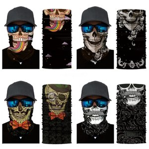 HJ5Tx Bicycle Magic Headband Outdoor Sports Riding Gas Mask Bike Skull Scarf Breathable Cycling Skull Scarf Face Mask For Bike#961