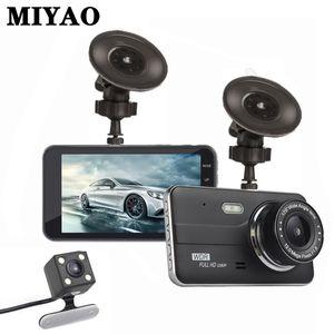 "4 ""Dual Lens Car Dash Cam WDR FHD 1080P Dash Camera Car 170 Degree Vehicle Driving DVR Recorder G-Sensor Night Vision DVR Camera"