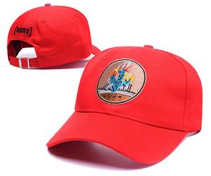 Mens Rodeo Snapback Caps Hip Hop piatto Cappelli da baseball Rapper Hat Fashion Street