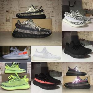 adidas yeezy yeezys yezzy yezzys 350 boost zapatos puerta trasera de la caja las mujeres los hombres de la tierra Kanye West sabio del desierto Correr Yecheil zapatos zapatillas