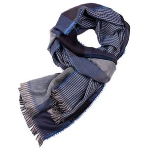 4 colores diseñador clásico a cuadros bufandas mujeres hombres borlas cuello bufanda regalo de lujo de la cachemira mantones envío gratis