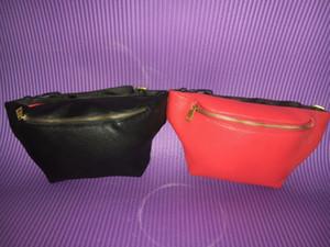 High Quality PU Women waist bag famous belt bag men fanny pack men waist pack pouch small graffiti belly bags new style Waist Bags #5188