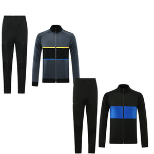 TOP 2020 2021 LUKAKU LAUTARO Inter Sport tracksuit Soccer Jersey 20 21 Sport jacket football suit soccer jacket