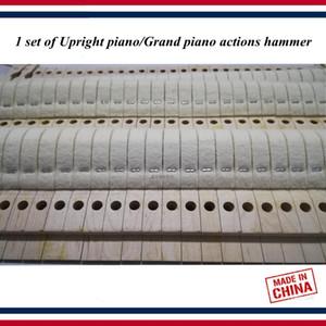 Инструменты для настройки фортепиано аксессуары - 1 комплект вертикального пианино / рояль действия молоток-фортепианные части