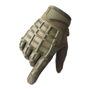 Army Tactical Full Finger Gloves Men Military Paintball Airsoft Shooting Combat Protective Gloves Anti-skid Cycling Sport Gloves
