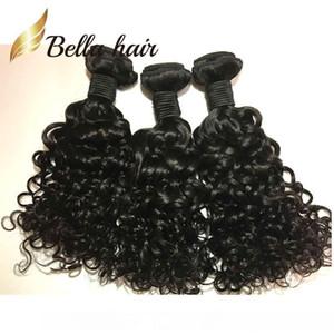 A 4pcs Lot Brazilian Water Wave Lace Closure Ocean Wave Weaves Closure Virgin Human Hair Bundles With Closure Bella Hair