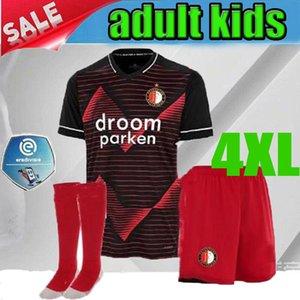 figli adulti 20 21 Feyenoord maglia bambino calcio Berghuis JORGENSEN KOKCU camisa de futebol camicia Sinisterra Toornstra S-4XL Il grande formato di calcio