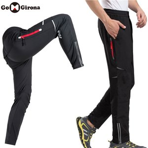 Men Women Bicycle Trousers Reflective Breathable Summer Bike Cycling Pants Riding Clothing Bicycle Fishing Fitness Trousers