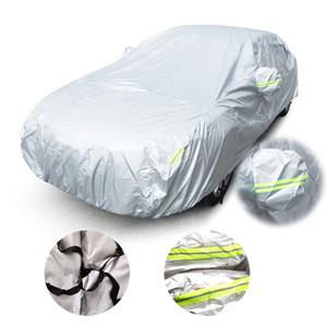 Universal Araç Sedan için Boyut S / M / L / XL / XXL Kapalı Açık Tam Kapak Sun UV Kar Toz Dayanıklı Koruma Kapağı Kapaklar