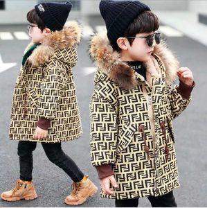 2020 neonati maschi giacca Autunno Inverno Bambini Giacca cappotto caldo incappucciato spesso bambini tuta sportiva del cappotto del bambino del ragazzo della ragazza abbigliamento