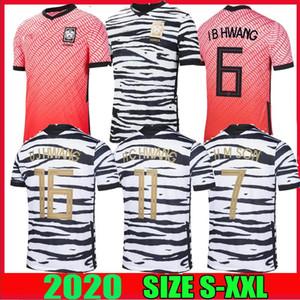 2020 2021 جنوب كرة القدم الفانيلة كوريا SON 7 SON HUN KWON LEE KIM HO SON هيونغ KIM منزل AWAY 2021 SHIRTS 21 مايوه DE FOOT KIT FOOTBALL