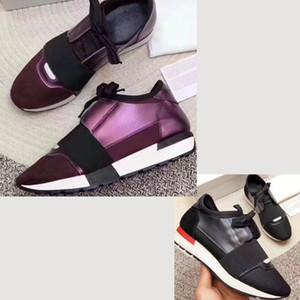 2019 новые модные роскошные дизайнер кроссовки мужчина женщина повседневная обувь из натуральной кожи сетки острым носом гонки бегун обувь на открытом воздухе кроссовки