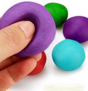 منفوش سوبر لايت الوحل الطين المعجون اليد لعب كلاي الألوان الصلبة سترس الإغاثة هدية لعبة للأطفال 13G مع حقيبة