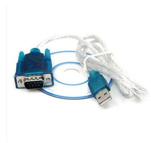 CH340 USB to RS232 COM Port Serial PDA 9 pin DB9 Cable Adapter Male to Male M M For PC PDA GPS Support