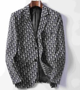 Trajes para hombre Blazer Italia París para hombre de la chaqueta de lujo de la marca de manga larga para hombre de las chaquetas de moda chaqueta del juego de vestido elegante de la boda
