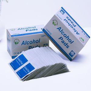 Disinfezione tamponi imbevuti di alcool monouso dipe Wet Wipe domestica disinfettanti Hand Sanitizer Salviette Immediata sfregamento sterilizzazione Tuffi FY6054