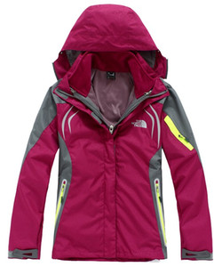THENORTHFACE الرياضة في الهواء الطلق سترة التزلج السيدات السترات في الهواء الطلق وسترة التزلج الدافئة السيدة سمكا في الهواء الطلق التخييم المشي لمسافات طويلة التخييم سترة