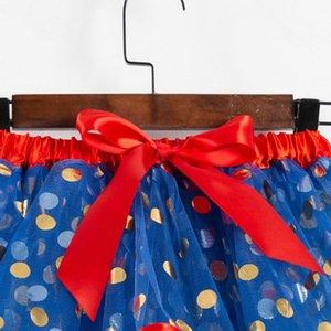 Child Girls Tutu Skirts Clothes Kids Girls Dot Print Skirts & Skorts Baby & Kids Clothing Patchwork Tulle Skirt Children Casual Cute D 3yC4#