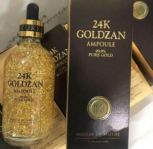 Brand New 24K GOLDZAN AMPOULE Cosmetics Essence Serum Face makeup by Skinatural DHL Free