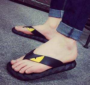 Venda quente-2018 Super Monstro homens Slides Thick Soled Chinelos de Verão Sandálias Plataforma Mulheres Sapatos Flip Flops Zapatillas Mujer