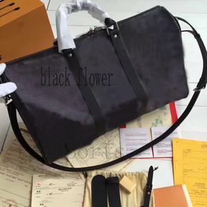 2019 uomini del progettista di qualità Top Keepall 45 55 sport mens borsa di viaggio dei bagagli mono grammo borse luxury bag duffle crossbody tote bloccano key950c #