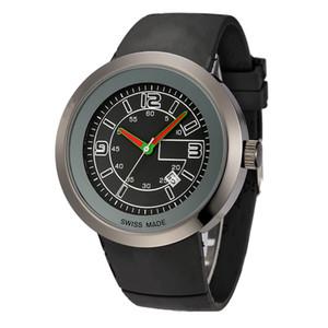 2019 chaudes montres de luxe pour hommes et femmes grande horloge mouvement à quartz bracelet en caoutchouc cadran multicolore montre de sport en acier inoxydable look de mode