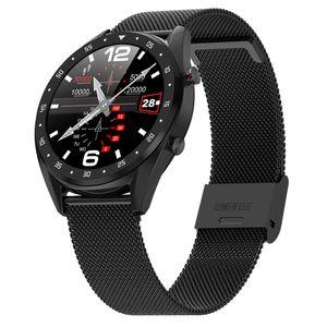 L7 Smart Watch Unterstützung Phone Call Dialer EKG-Herzfrequenz-Smartwatch wasserdicht IP68 Uhr-Mann-Frauen für Android IOS Messen