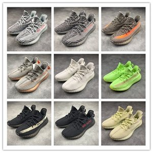 2020 Kanye West 350 Sneaker Eva-boosts Zebra Triple White V2 Clay True Form Hyperspace Sneakers 350 with box xu8899