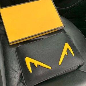 Clutch carteira do designer de couro de luxo Designer Handbag 3A alta qualidade bolsa Men Bag Com Box