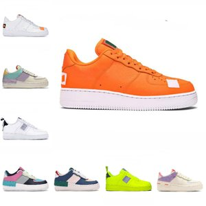 alta qualità PEACEMINUSONE Forze X Mid Scarpe da corsa WMNS Ombra Tropical Twist Sneakers Trainer All White Low Cut One 1 Dunk Scarpe