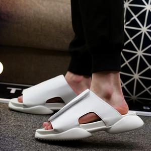 Seak Uomini Roma Infradito Formatori della piattaforma Men Casual Scarpe Pantofole diapositive Estate Appartamenti Raffreddare Street Style Sandali