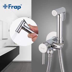 도매 비데 수도꼭지 황동 욕실 샤워 탭 비데 화장실 스프레이 화장실 세탁기 믹서 이슬람 샤워 ducha higienica F7505-2