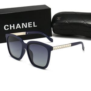 New men's polarized sunglasses UV400 square frame pilot ladies glasses fashion classic brand coated sports driving sunglasses
