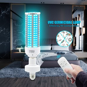 UVC germicide lumière ultraviolette ozone UV stérilisante maïs ampoule lampe E26 / E27 Chambre Salon Désinfection Lumière 110V 220 V