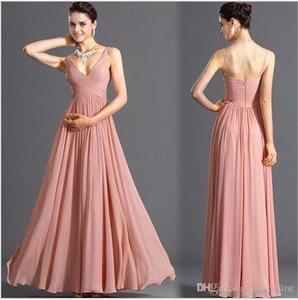 Pink Chiffon Long robe Summer Bridesmaid Sexy Backless Wedding Guest Dress Engagement Dress Wrap Women Dress