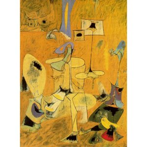 Abstract paintings Los esponsales II Arshile Gorky artwork for office wall decor large canvas hand painted