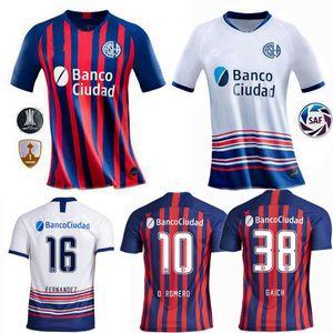 2020 2021 Сан Лоренцо футбол Майки Ромеро Пьятти Д. Родригес дома в гостях 20 21 футбольная рубашка