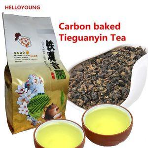 Verde Promoção 50g alimentos de alta qualidade chinês Tieguanyin chá fresco Natural carbono Specaily TiKuanYin Oolong Chá saudável