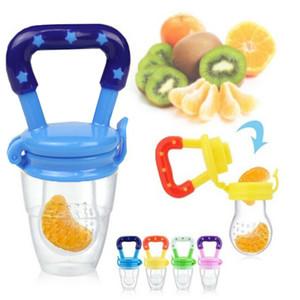 Baby Teether Nipple Fruit Food Mordedor Silicona Bebe Silicone Teethers Safety Feeder Bite Food Teether Baby Food Mills CCA121560 120pcs