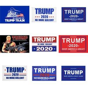 Anuncie Trump 2020 logotipo da bandeira 2X6Ft banner personalizado Digital Impresso 180X60Cm decorativa Promocional Sports Training School Camping # 559
