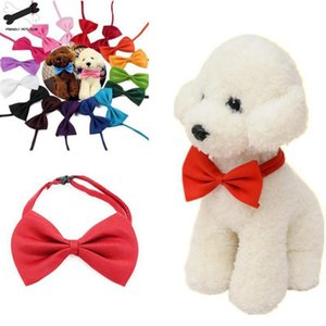19 colors supply 1 adjustable dog cat bow tie neck pet dog bow tie puppy butterfly pet supplies