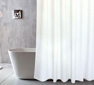cortina de chuveiro com ganchos de cortina impermeável para decoração do banheiro tecido de poliéster Bath cortinas de banheiro PEVA Curtain LJJK1794