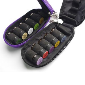 10 Slot Bottle Essential Oil Case Protects For 3ml Rollers Essential Oils Bag Organizador Travel Carrying Storage Organizer