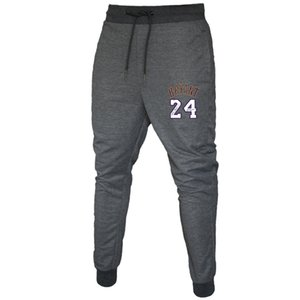 Mens Designer Pants Spring Summer Fashion Leisure Trousers New Brand Long Pants Casual Sports Number 24 Printing Pants S-XXL Hot