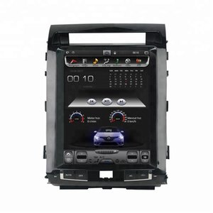 """Tesla style Screen 12.1"""" Android 7.1 Car DVD Stereo Radio GPS for Toyota Land Cruiser LC200 2008 2009 2010 2011 2012 2013 2014 2015"""