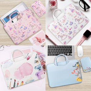 Bag Leather Laptop Soft PU For Macbook Air Pro Retina 11 13 14 15 15.6 inch Laptop Sleeve Case PC Tablet Case Cover for HP Dell